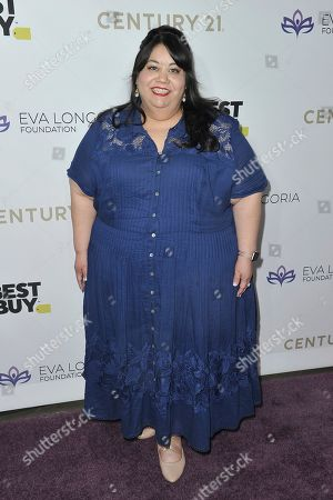 Carla Jimenez attends the 2019 Eva Longoria Foundation Dinner Gala at the Four Seasons Hotel, in Los Angeles