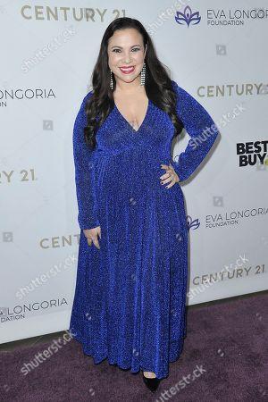 Gloria Calderon Kellett attends the 2019 Eva Longoria Foundation Dinner Gala at the Four Seasons Hotel, in Los Angeles
