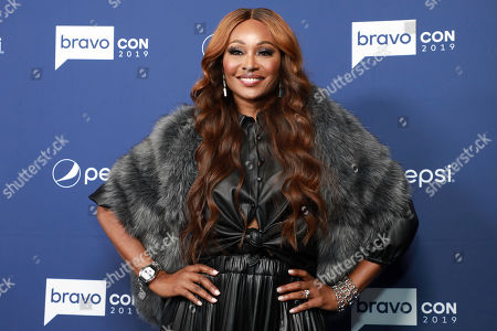 "Cynthia Bailey attends BravoCon's ""Watch What Happens Live"" red carpet event, in New York"