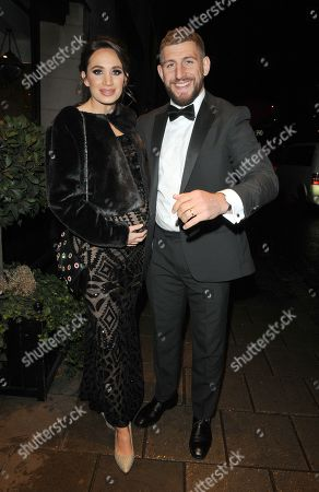 Laura Wright and Harry Rowland