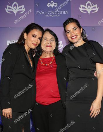 Eva Longoria, Dolores Huerta, America Ferrera
