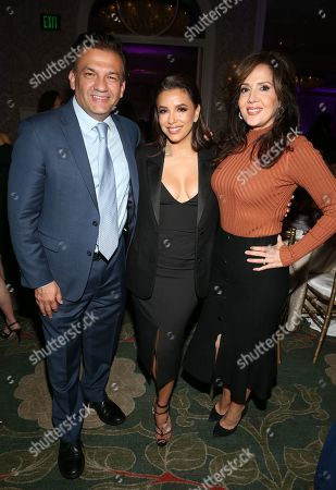 Stock Photo of David Barrera, Eva Longoria, Maria Canals-Barrera