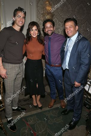 Stock Image of David Barrera, Izzy Diaz, Jose Moreno Brooks, Maria Canals-Barrera