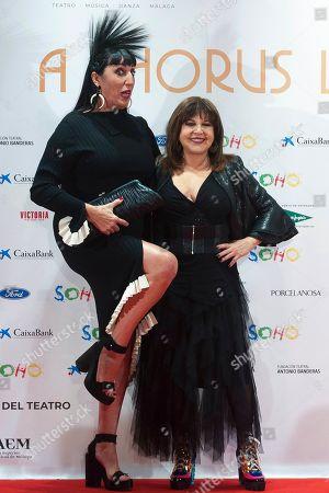 Rossy De Palma and Loles Leon