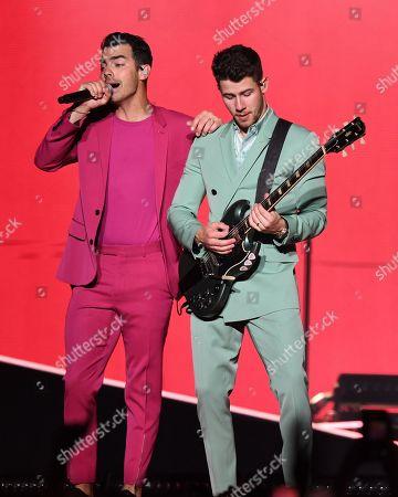 The Jonas Brothers - Joe Jonas and Nick Jonas