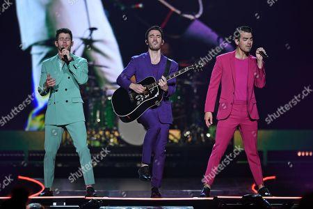 The Jonas Brothers - Nick Jonas, Kevin Jonas and Joe Jonas