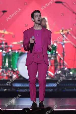Editorial image of The Jonas Brothers in concert at The BB&T Center, Sunrise, Florida, USA - 15 Nov 2019
