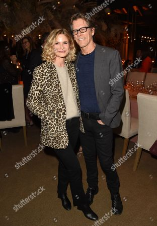 Kevin Bacon and Kyra Sedgwick attend the 'Vintner Circle Dinner' at the Napa Valley Film Festival, St. Helena, CA @NapaFilmFest