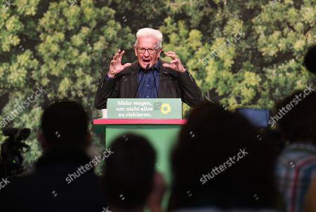 Editorial photo of German Green party congress, Bielefeld, Germany - 16 Nov 2019