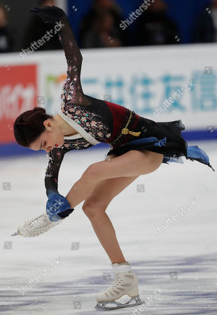 Evgenia Medvedeva of Russia performs during a Ladies free Skating program at the 2019 Rostelecom Cup of Russia ISU Grand Prix of Figure Skating in Moscow, Russia, 16 November 2019.