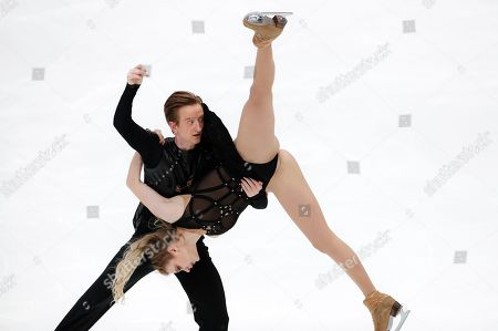 Editorial photo of Russia Figure Skating, Moscow, Russian Federation - 16 Nov 2019