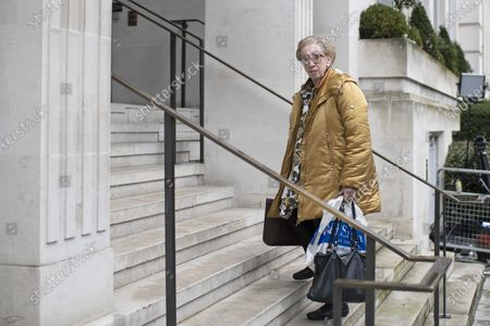Labour MP Margaret Beckett arrives for a Labour NEC meeting at Savoy Place.