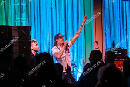 Editorial picture of The Rocker's Ball: A Night of Hope, Healing & Music Benefiting Do It for the Love, San Francisco, USA - 15 Nov 2019