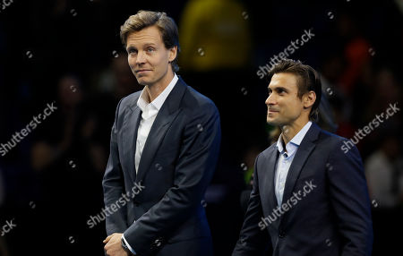 Editorial picture of Tennis ATP Finals, London, United Kingdom - 16 Nov 2019