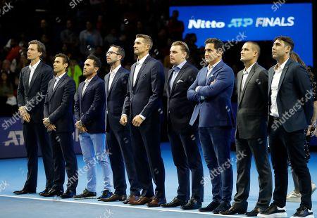 Editorial image of Tennis ATP Finals, London, United Kingdom - 16 Nov 2019