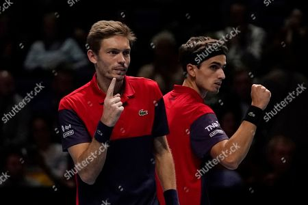 Editorial photo of ATP World Tour Finals in London, United Kindgom - 16 Nov 2019