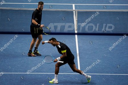 Editorial picture of ATP World Tour Finals in London, United Kindgom - 16 Nov 2019