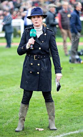 ITV Racing presenter Alice Plunkett
