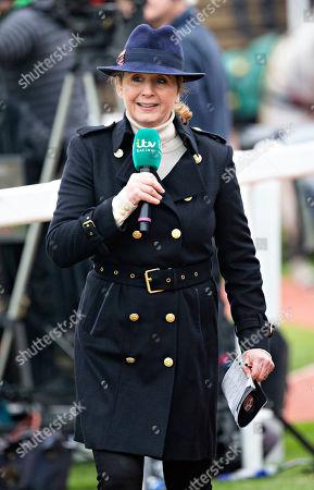 Stock Image of ITV Racing presenter Alice Plunkett
