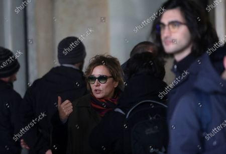 Stefano Accorsi and Valeria Golino were asked to leave Piazza San Marco while they were filming a movie scene.