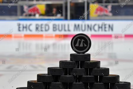 Stock Image of Impressionen aus dem stadium, Red Bull Muenchen vs. Thomas Sabo Ice Tigers, Eishockey, DEL Hauptround 18. match day 15.11.2019.