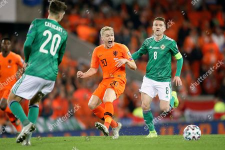 Editorial picture of Northern Ireland Netherlands Euro 2020 Soccer, Belfast, United Kingdom - 16 Nov 2019