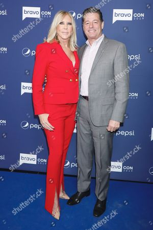 Stock Image of Vicki Gunvalson and fiance Steve Lodge