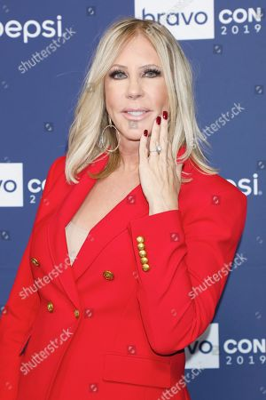 Vicki Gunvalson, showing off her engagement ring