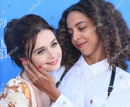Jessica Barden and Hayley Law