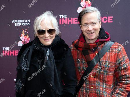 Stock Image of Glenn Close and John Cameron Mitchell
