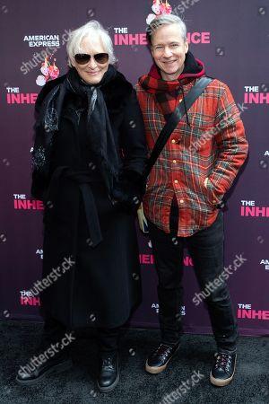 Glenn Close and John Cameron Mitchell