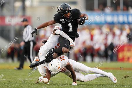 Editorial photo of Texas Iowa St Football, Ames, USA - 16 Nov 2019