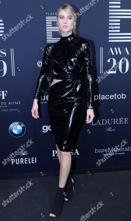 Editorial picture of Black carpet of the Place to B awards in Berlin, Germany - 16 Nov 2019