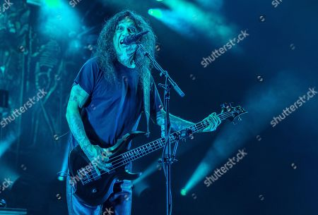 Editorial image of Slayer in concert at Taxslayer Center, Illinois, USA - 14 Nov 2019