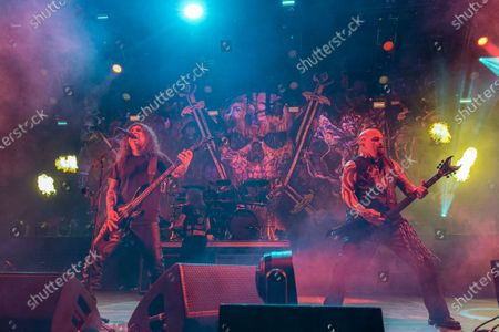 Slayer - Tom Araya and Kerry King perfroming during 'The Final Campaign' tour