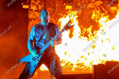 Editorial picture of Slayer in concert at Taxslayer Center, Illinois, USA - 14 Nov 2019