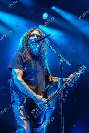 Slayer - Tom Araya perfroming during 'The Final Campaign' tour