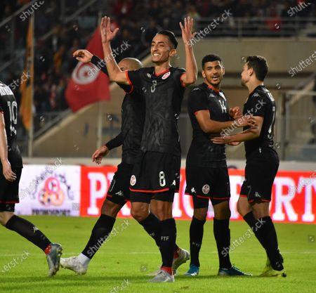 Editorial image of Tunisia V Libya, Football, Africa Cup of Nations Group J Qualifying, Stade Olympique de Rades, Tunis, Tunisia - 15 Nov 2019