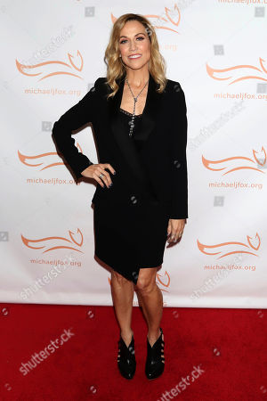 """Sheryl Crow attends the Michael J. Fox Foundation's """"A Funny Thing Happened on the Way to Cure Parkinson's"""" Gala to benefit Parkinson's research at the Hilton New York, in New York"""