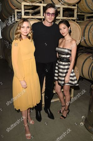 Stock Image of Liana Liberato, Jacob Elordi and Kelsey Chow attend the Rising Star Showcase at the Napa Valley Film Festival, Napa, CA @NapaFilmFest #NVFF19