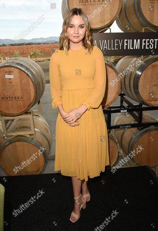 Liana Liberato attends the Rising Star Showcase at the Napa Valley Film Festival, Napa, CA @NapaFilmFest #NVFF19
