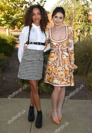 Hayley Law and Jessica Barden attend the Rising Star Showcase at the Napa Valley Film Festival, Napa, CA @NapaFilmFest #NVFF19