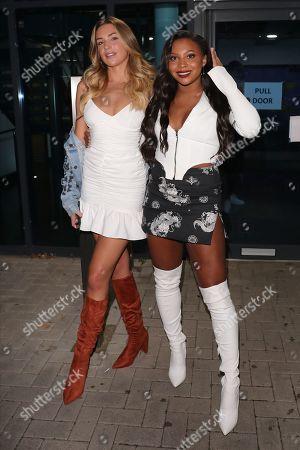 Zara McDermott and Samira Mighty