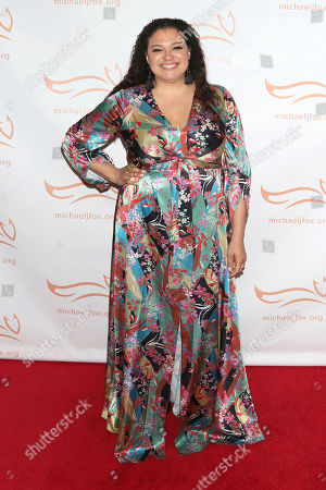 """Michelle Buteau attends the Michael J Fox Foundation's """"A Funny Thing Happened on the Way to Cure Parkinson's"""" Gala to benefit Parkinson's research at the Hilton New York, in New York"""