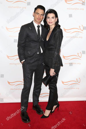"""Stock Picture of Keith Lieberthal, Julianna Margulies. Keith Lieberthal and Julianna Margulies attend the Michael J Fox Foundation's """"A Funny Thing Happened on the Way to Cure Parkinson's"""" Gala to benefit Parkinson's research at the Hilton New York, in New York"""