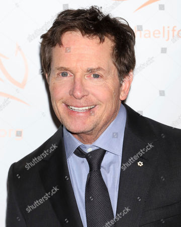 """Michael J Fox attends the Michael J Fox Foundation's """"A Funny Thing Happened on the Way to Cure Parkinson's"""" Gala to benefit Parkinson's research at the Hilton New York, in New York"""