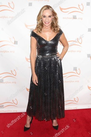 """Tracy Pollan attends the Michael J Fox Foundation's """"A Funny Thing Happened on the Way to Cure Parkinson's"""" Gala to benefit Parkinson's research at the Hilton New York, in New York"""