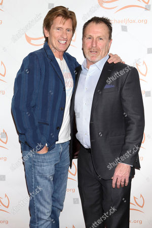 "Denis Leary, Colin Quinn. Denis Leary, left, and Colin Quinn attend the Michael J Fox Foundation's ""A Funny Thing Happened on the Way to Cure Parkinson's"" Gala to benefit Parkinson's research at the Hilton New York, in New York"