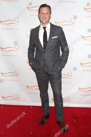 "Willie Geist attends the Michael J Fox Foundation's ""A Funny Thing Happened on the Way to Cure Parkinson's"" Gala to benefit Parkinson's research at the Hilton New York, in New York"