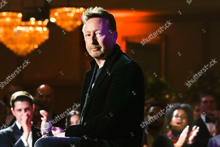 Julian Lennon finishes performing at Captain Planet Foundation's Annual Benefit Gala at Flourish Atlanta, in Atlanta
